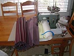 sewing tuck & roll upholstery