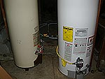 Water Heaters Sharing Gas Line