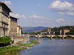 Bridge over Arno in Florence