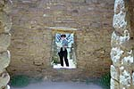 Doorways in Aztec Ruins, near Farmington, NM
